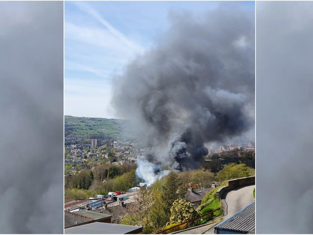 Picture of the fire by Verity Curtis