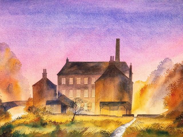 Gibson Mill by Ian Scott Massie.
