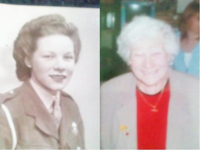 Dorothy Maude celebrates her 100th birthday.