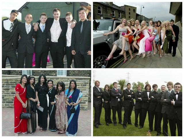 25 photos of high school proms in Calderdale between 2007 and 2010