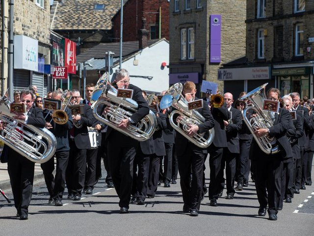 March and Hymn Tune Competition in Brighouse