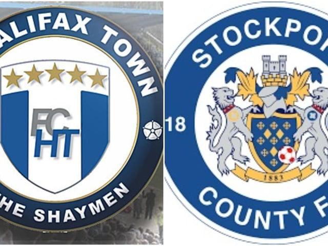 Halifax v Stockport