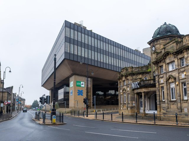 Lloyds banking group in Halifax