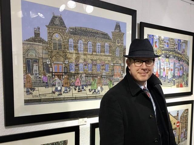 Calderdale based artist Roger Davies