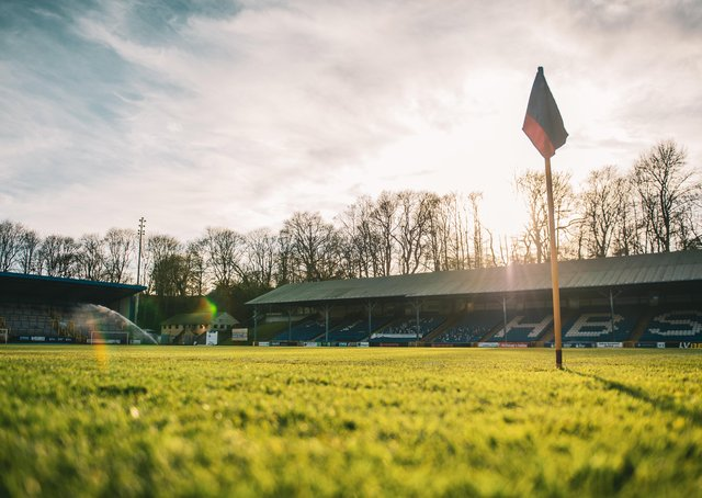 FC Halifax Town v Aldershot, The Shay, Tuesday, March 16. Photo: Marcus Branston