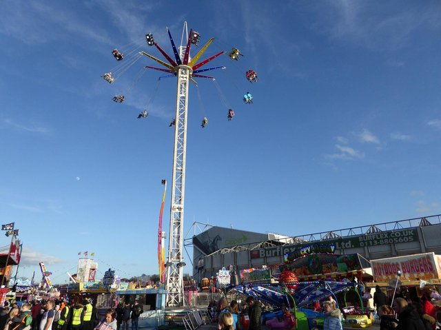 The spectacular Sky Swing ride at 40m will offer some amazing views.