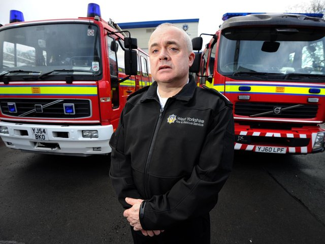 Dave Walton, co-chair of West Yorkshire Prepared and deputy chief fire officer of West Yorkshire Fire and Rescue Service
