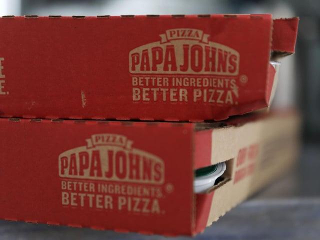 Papa John's pizza box (Getty Images)