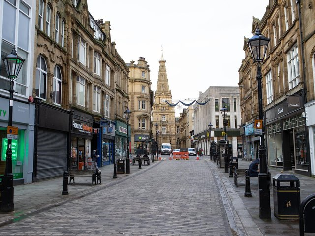 The areas of Halifax and Calderdale where coronavirus rates are rising
