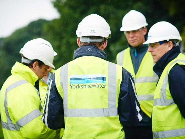 Yorkshire Water staff