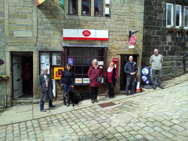 Friends of Heptonstall Post Office.
