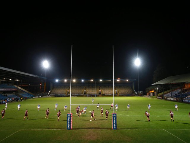 Halifax Panthers' clash with Sheffield Eagles has been postponed. Picture by Ed Sykes/SWpix.com
