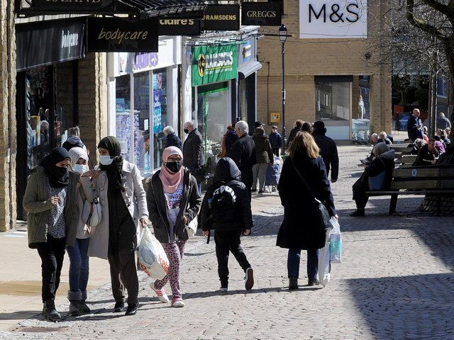Infection rates in Calderdale have gone up