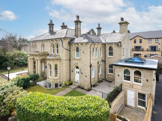 The majestic property within a gated community in Halifax