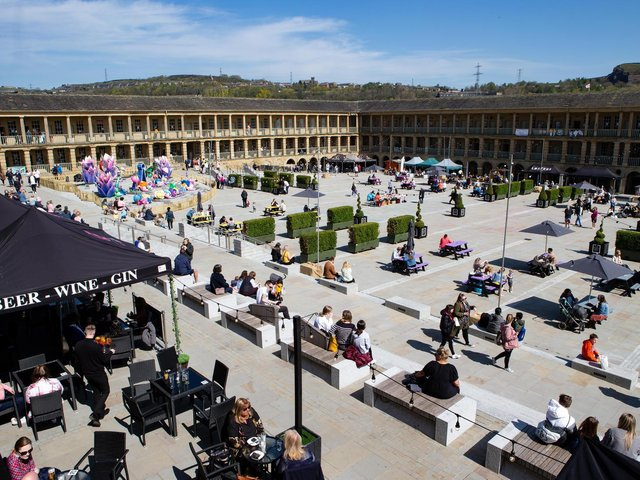 The Piece Hall will be hosting a Eid get together