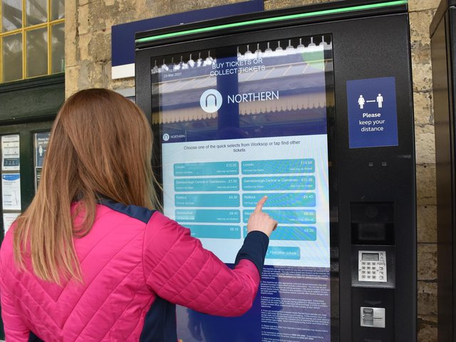 New ticket machines installed by Northern