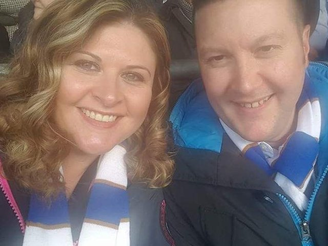 Joanne and Craig Dye, foster carers from Calderdale.