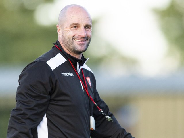 Darren Kelly has stepped down as Boro boss