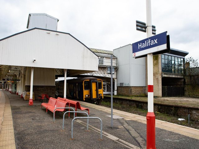 Halifax train station