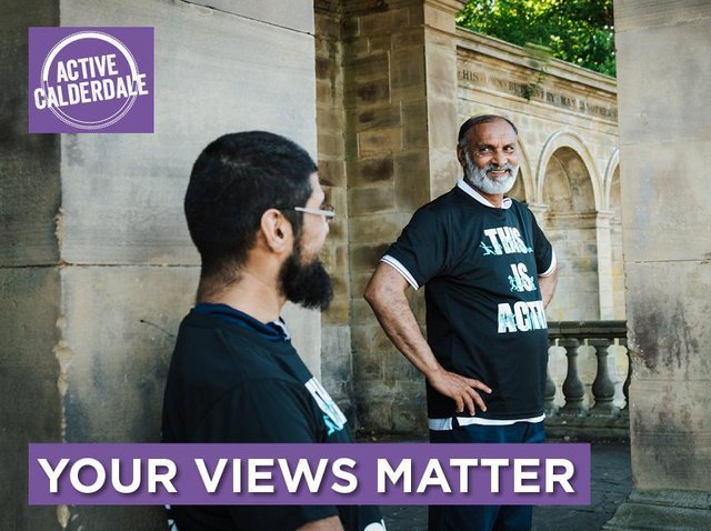 Share your views to support an Active Calderdale