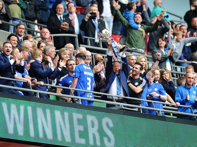 FA Trophy final 2016, Grimsby Town 0-1 FC Halifax Town