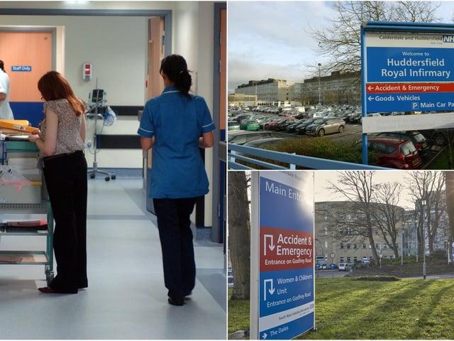 Calderdale Royal Hospital and Huddersfield Royal Infirmary