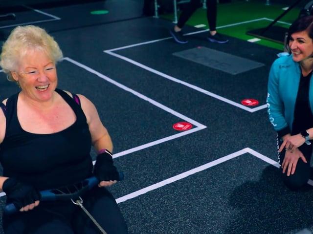 Sue Peel stars in PureGym's latest campaign