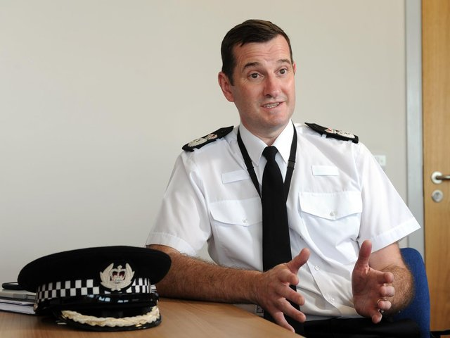 West Yorkshire Police Chief Constable John Robins QPM