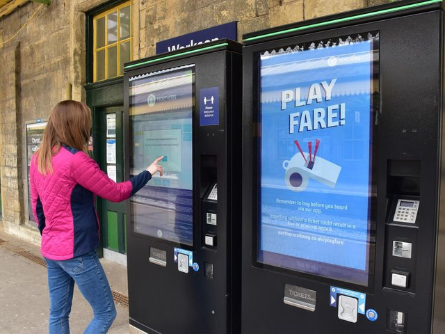 Northern is blowing the whistle on ticketless travel.