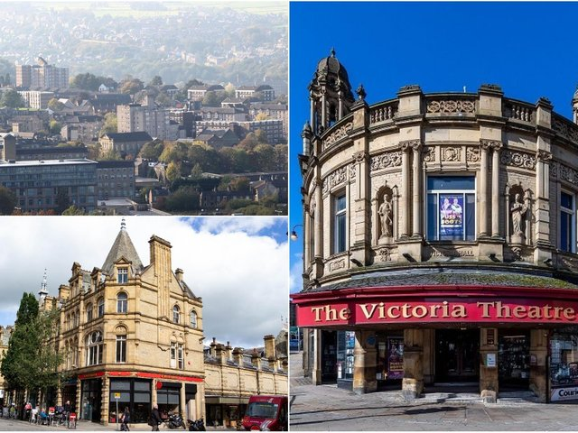 Elland and Halifax town centres have received Government funding