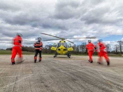 Crew for Yorkshire Air Ambulance