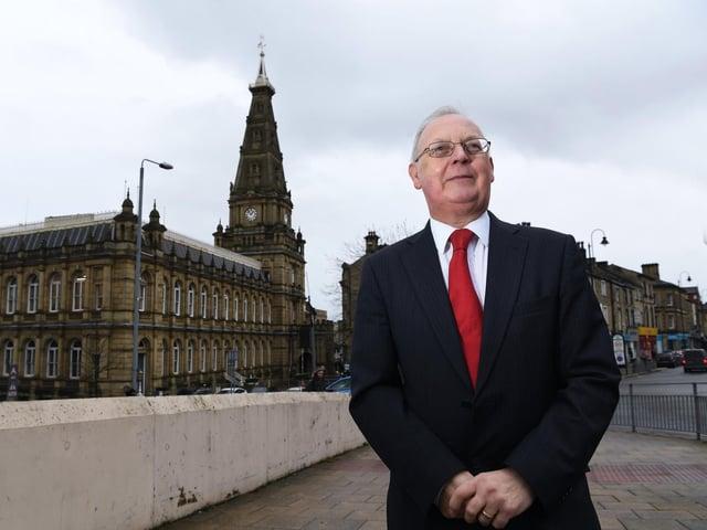 Calderdale Council leader Tim Swift