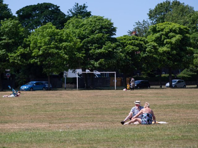 When will the hot weather end in Halifax and is a thunderstorm on the way?