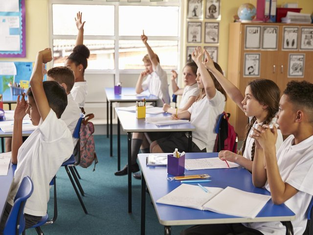 According to official Department for Education data, these are the Calderdale schools with the highest number of classes which contain more than 30 pupils. cc Shutterstock