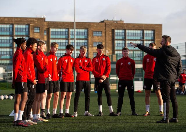 FC Halifax Town football academy, training at Calderdale College, Halifax
