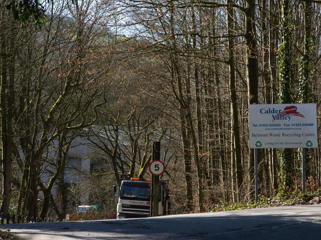 Calder Valley Skip Hire, Belmont Waste Recycling Centre, Rochdale Road, Sowerby Bridge