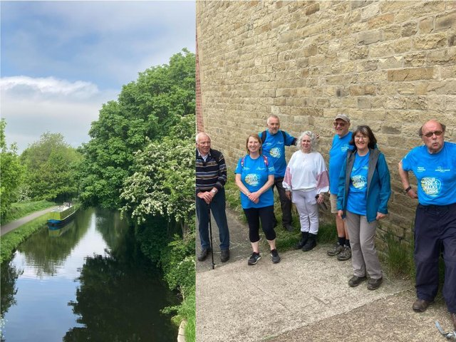 Halifax Rotary members stride out for Yorkshire Cancer Research