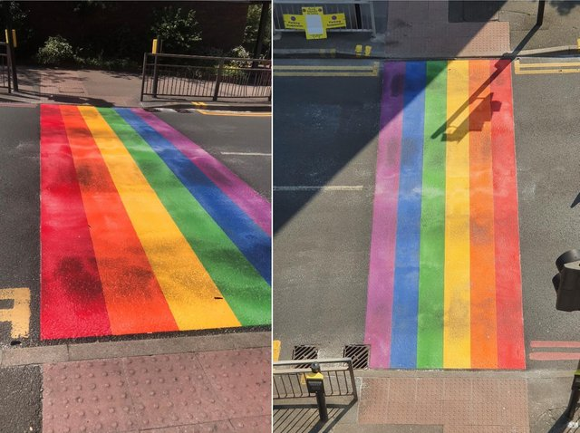 Where it has been done: Rainbow Crossings installed in the London Borough of Sutton