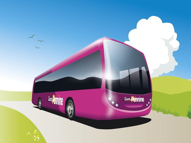 'Team Pennine' buses will be on the roads around Halifax