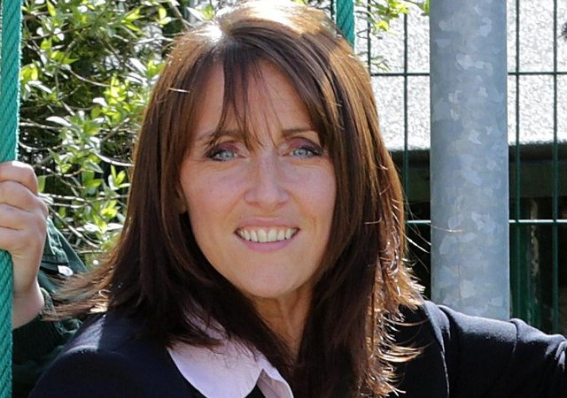 Halifax head teacher Liz Whetham