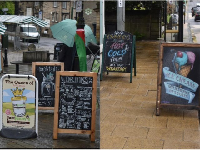 Disability groups have spoken out about the use of A-boards