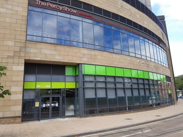 The new job centre at Broad Street Plaza
