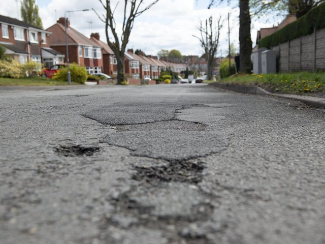 Money has been set aside for road projects in Calderdale