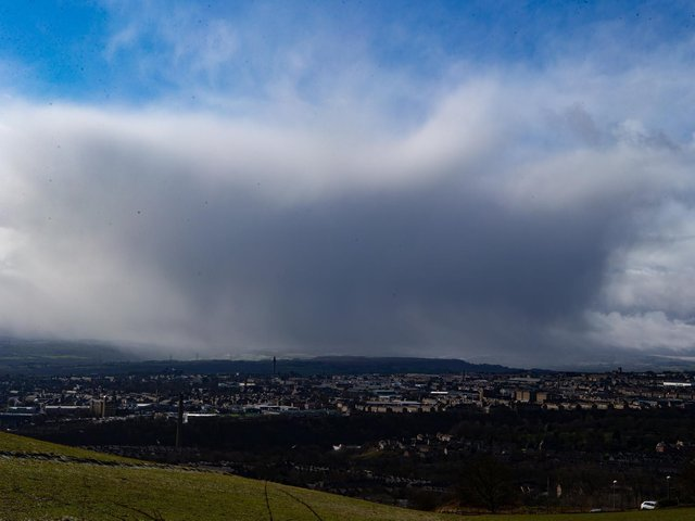 Thunderstorms are forecast in Calderdale