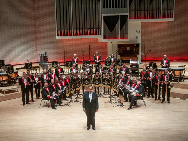 Black Dyke Band on tour with support from 'Culture Recovery' Funding