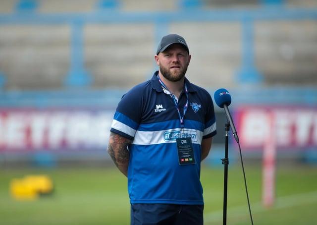 Simon Grix. Photo: Simon Hall/OMH Rugby Pics