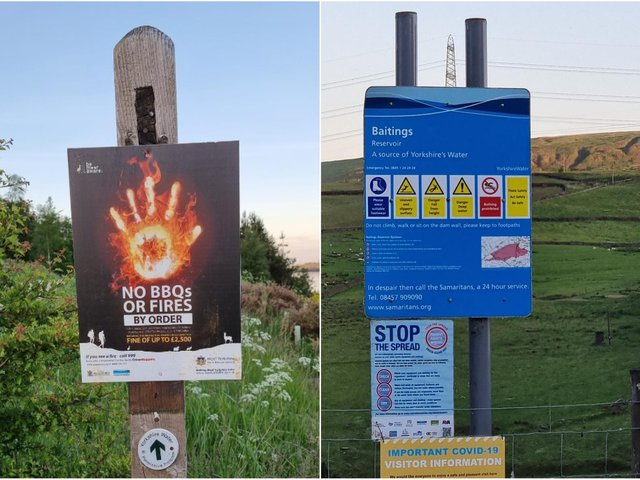 Pictures by Calderdale's Community Safety Wardens,