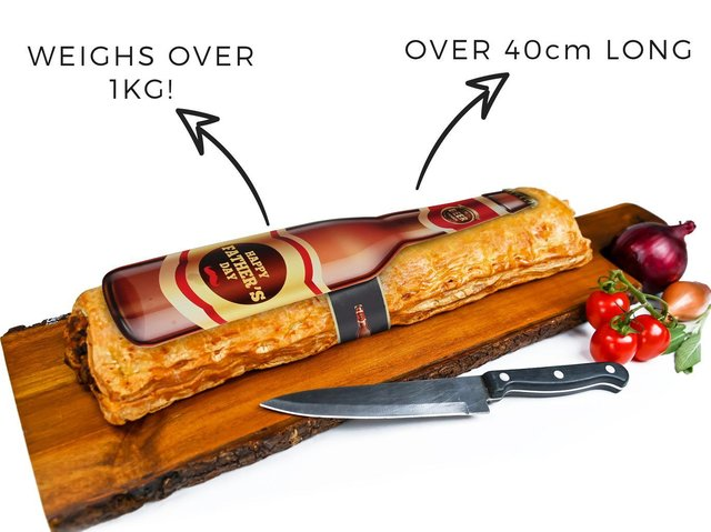 The huge sausage roll being sold in Halifax