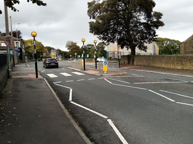 The A629 in North Halifax