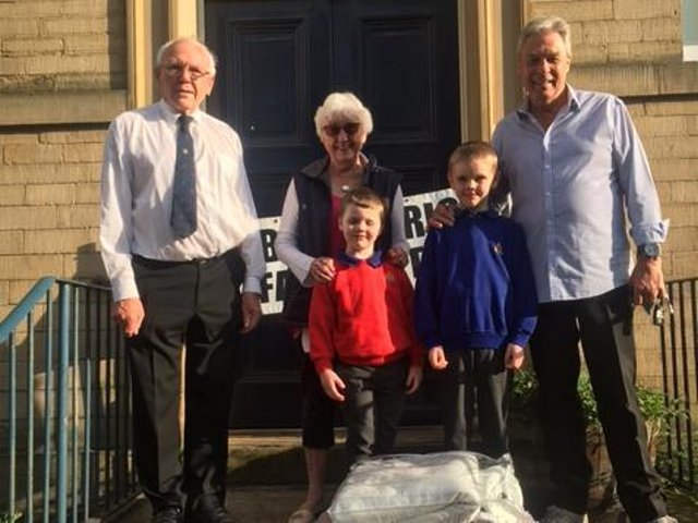 Halifax Boys Brigade supports Rotary project